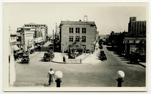 Vintage photo of Corpus Christi, Texas in 1930