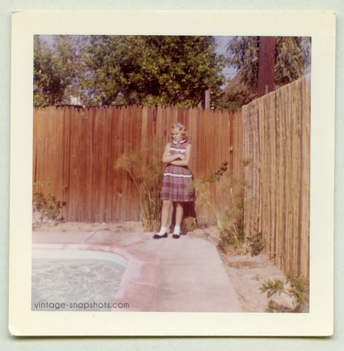 vintage-1960s-color-snapshot-girl-pool